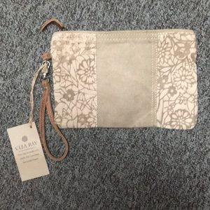 Clea Ray Military Canvas Clutch - NEW